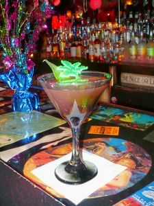 Jungle-tini at The Rendez'vous in Kenosha
