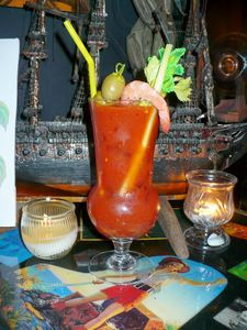 Bloody Mary at The Rendez'vous in Kenosha