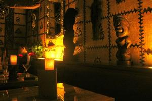 Interior at Trader Vic's in Bellevue