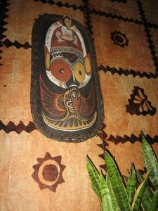 Wall art at Trader Vic's in Bellevue
