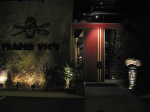 Entrance to Trader Vic's in Scottsdale