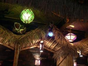 Decor at Forbidden Island in Alameda
