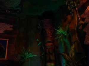 Logo tiki at Forbidden Island