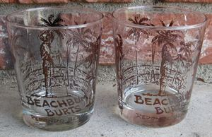 Glasses from Beachbum Burt's in Redondo Beach