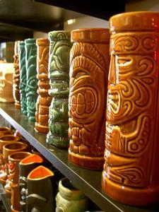 Tiki Farm mugs at Funhauser Decor in Vancouver