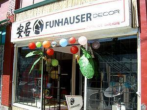 Exterior of Funhauser Decor in Vancouver