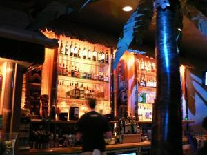 The bar at Smoke Tiki in San Jose