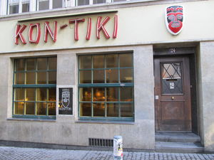 Exterior of Kon-Tiki in Zurich
