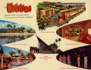 Postcard from the Waikikian Hotel in Waikiki