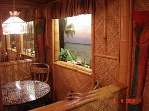 Tiki room at Young's Cafeteria in Glen Dale
