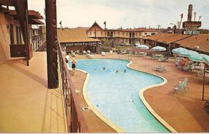 Postcard from Outrigger Inn Motor Hotel in Long Beach