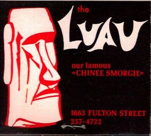 Matchbook from Luau in Fresno