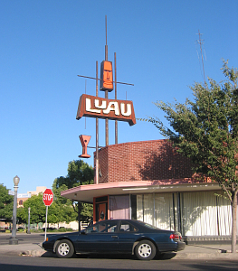 Exterior of Luau in Fresno