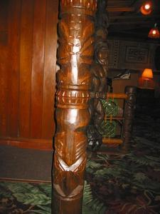 Tiki at Trader Vic's in Atlanta