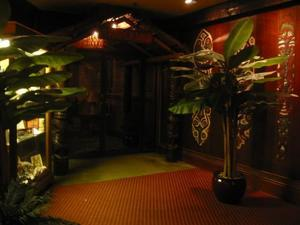 Hotel entrance to Trader Vic's in Atlanta