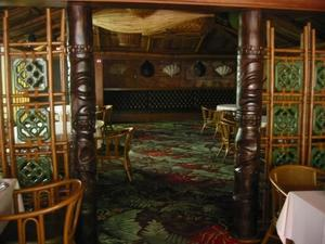 Dining room at Trader Vic's in Atlanta