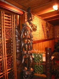 Tikis at Trader Vic's in Atlanta