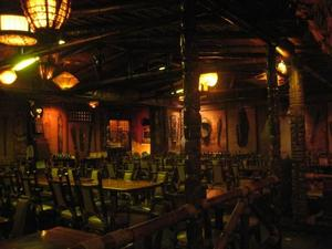 Main dining room at Mai-Kai in Ft. Lauderdale