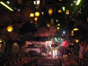 The stage at Mai-Kai in Ft. Lauderdale
