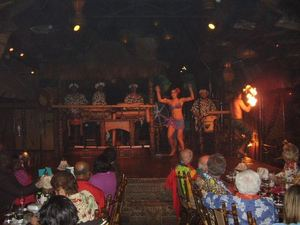 Polynesian floor show at the Mai-Kai in Ft. Lauderdale