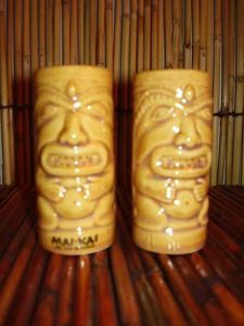 Salt and pepper shakers from the gift shop at Mai-Kai in Ft. Lauderdale