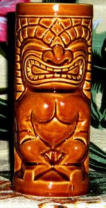 Vintage souvenir tiki mug from the Mai-Kai in Fort Lauderdale