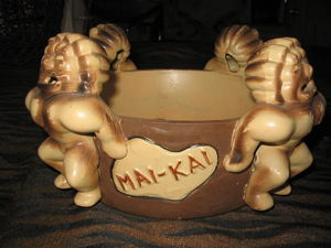 Drink bowl from Mai-Kai in Fort Lauderdale