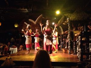 Floor show at Mai-Kai in Fort Lauderdale