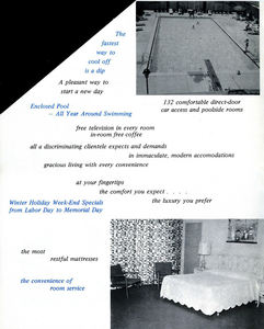 Brochure from the hotel that housed Aku Aku in Toledo