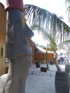 Moai at Solomons Island Tiki Bar in Solomons