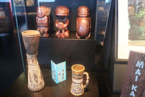 Tiki Pop exhibit at Mus�e du Quai Branly in Paris