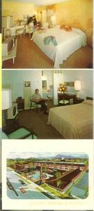 Brochure from Waikiki Motel in Anaheim