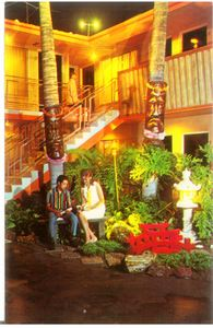 Postcard from Kona Kai Motel in Anaheim