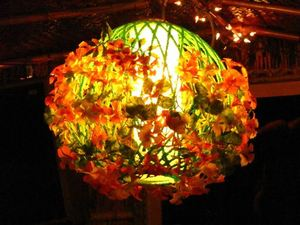 Another unique lamp at Sip-N-Dip Tiki Lounge in Great Falls