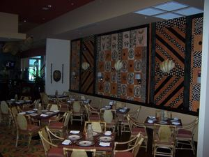 Dining room at Trader Vic's in Destin