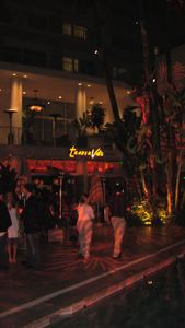 Trader Vic's Lounge in Beverly Hills