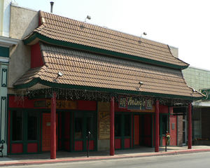 Exterior of Ming's Restaurant & Lounge in Yreka