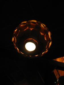 Lamp at Damon's in Glendale