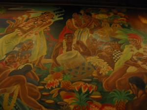 Mural at Damon's in Glendale