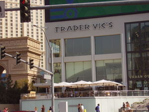 Exterior of Trader Vic's in Las Vegas