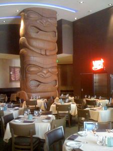 Dining room at Trader Vic's in Las Vegas
