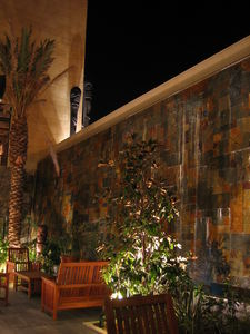 Lounge patio at Trader Vic's in Amman