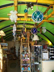 Inside House of Tiki's quonset hut in Costa Mesa
