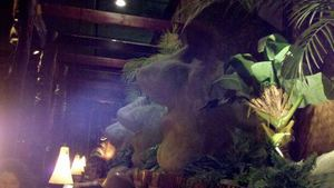 Moai at The Tiki Terrace in Des Plaines