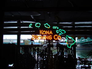 Neon sign at Tiki Tom's in Oakland