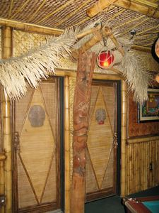 Restrooms at Frankie's Tiki Room in Las Vegas