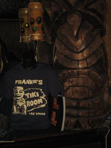 Tee shirt at Frankie's Tiki Room in Las Vegas