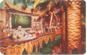 Original postcard from Bali Bar in Mexico City