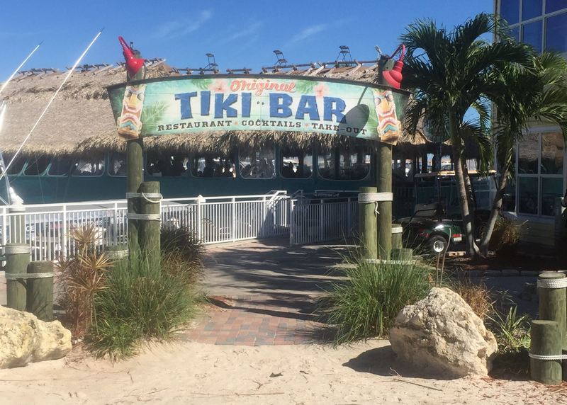 Front Entrance To The Original Tiki Bar In Fort Pierce Fl
