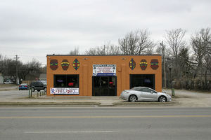 Exterior of Tropics Lounge in Wichita